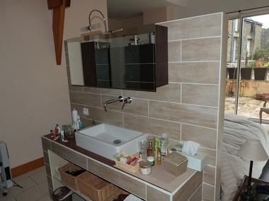 Gîte Ricroch suite parentale salle d'eau - Sérent