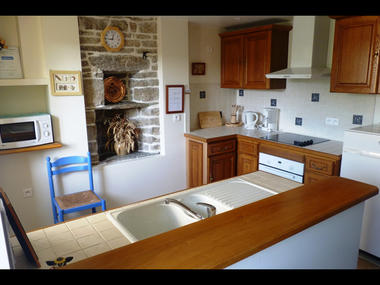 Gîte de Thérèse Le Guével, cuisine 2016 - Sérent - Morbihan