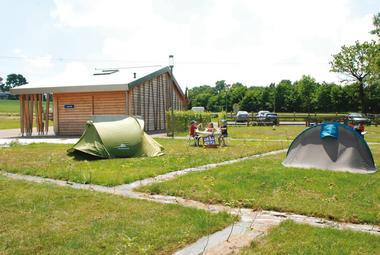 Éco-camping des Buis à aux Brulais