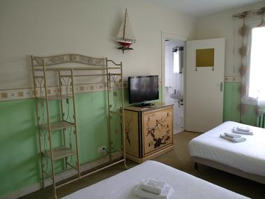 hôtel - le ludixarium - chambre familiale - Ploërmel - Morbihan