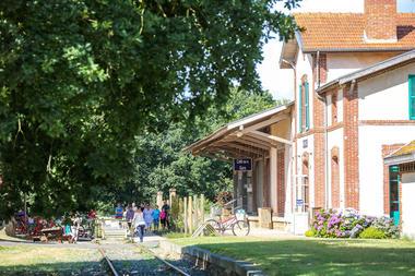 Gare Vélo-Rail de Médréac - Extérieur