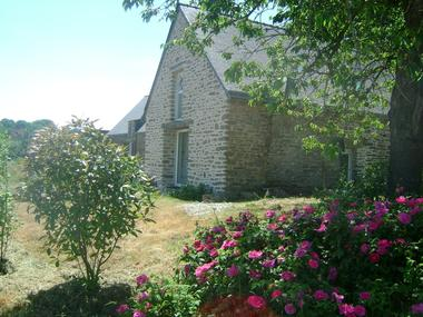 Le gîte du Foso et ses rosiers - Saint-Guyomard - Morbihan - Bretagne