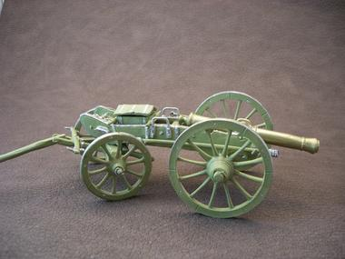 canon-gribeauval- Atelier soldat de plomb - artisan d'art - Ploërmel - Morbihan