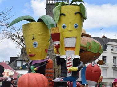 carnaval - Ploërmel - Morbihan - Bretagne