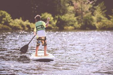 paddle initiation lac de tremelin