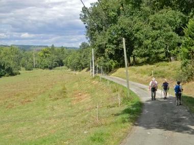 Randonnée pédestre sur le Chemin de Compostelle