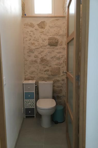 Toilettes indépendantes - RDC
