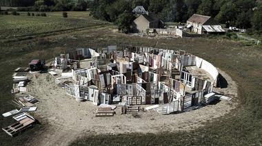 Labyrinthe à Thoré-la-Rochette