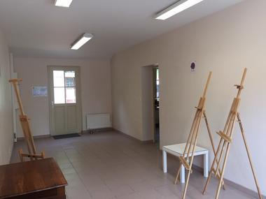 La maison des métiers d'art et des artistes à Trôo