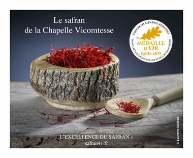 le-safran-de-la-chapelle-vicomtesse--region-centre-val-de-loire--France