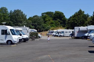 Saint-Pair-sur-Mer_aire de camping-cars_2
