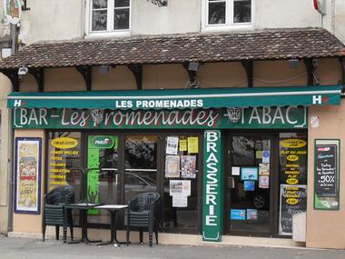 Café de pays Le Bar des Promenades à Belleme