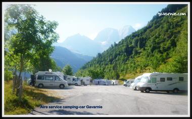 AIRE DE CAMPING CAR -GAVARNIE