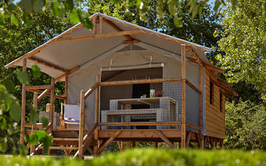 CAMPING ARRAYADE GER cabane lodge