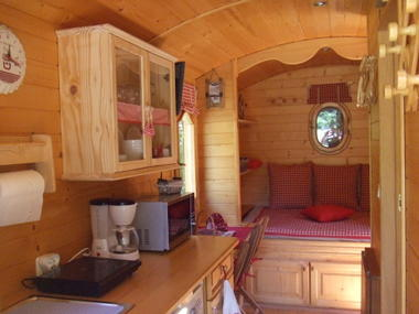 CAMPING ROULOTTE - Interieur 2