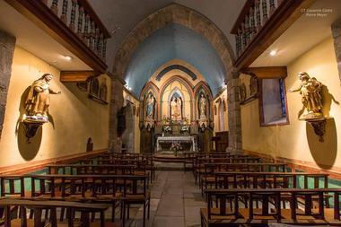 Eglise de Gavarnie interieur (1)