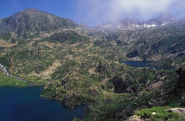 Les lacs de la Glère