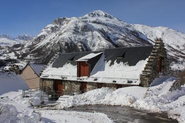 MARCHAND Jean-Loic -  maison ext hiver