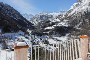 C MARCHAND Jean-Loic -  vue balcon hiver