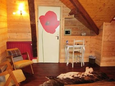 chambre1-hotelArrieulat-argelesgazost-HautesPyrenees
