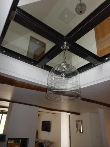 plafond vitré