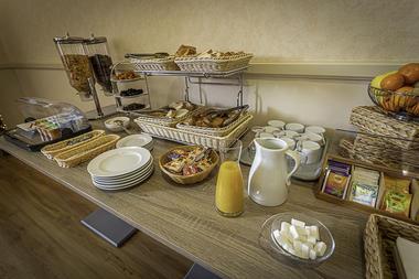 Petit-déjeuner en buffet