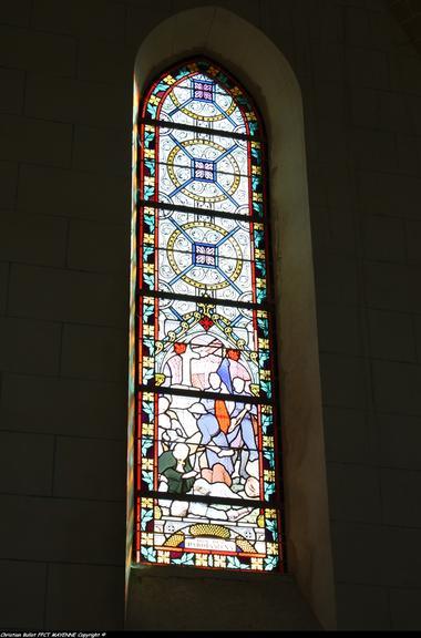 Vitrail Saint Julien des Eglantirs
