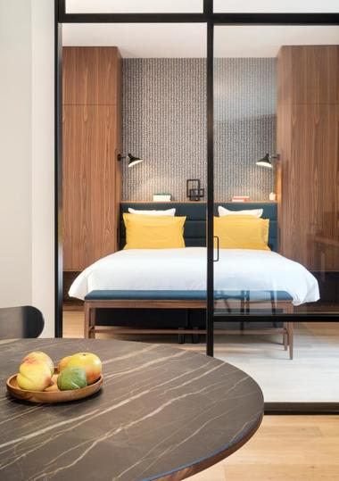 Appart Hôtel - Appartement chez Béatrice - Chambre