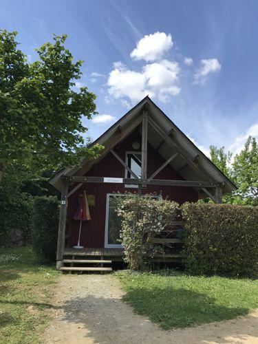 chalet n°2 la Nonette Camping du Bac Ménil