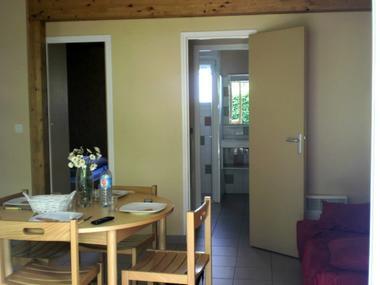 interieur chalet 2 chambres photo