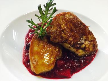 foie gras poele