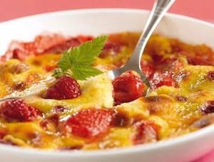 photo gratin fruits frais sabayon