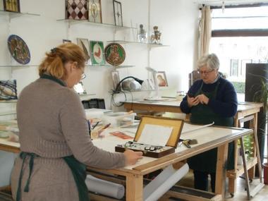Atelier Dyl Vitrail - Artisan d'art - Maitre verrier Lisieux (2)