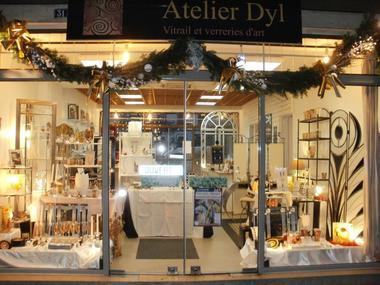 Atelier Dyl Vitrail - Artisan d'art - Maitre verrier Lisieux (4)