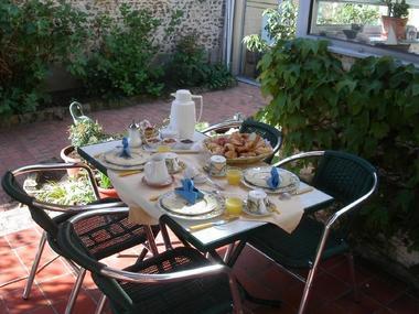Chez Lorette petit déjeuner
