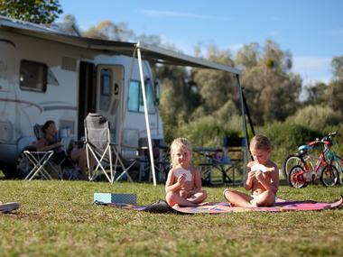 Camping Huttopia Calvados à Moyaux Enfants