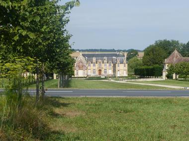 Château de Carel à Saint Pierre sur Dives