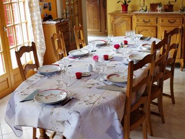 Chambre La Cour du Houx table d'hôtes