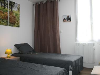 Chambre configuration 2 lits 80 2 pays d auge 22 rue blanches portes
