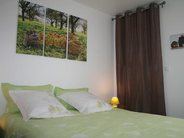 Chambre configuration lit 160 Pays d auge 22 rue blanches portes