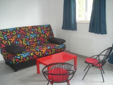 Chez Hubert Verhaest à Moyaux Espace salon