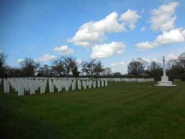 Cimetiere militaire britannique - Saint-Désir - Lisieux (5)