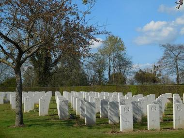 Cimetiere militaire britannique - Saint-Désir - Lisieux (6)