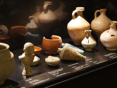 Détail du musée d'art et d'histoire de Lisieux