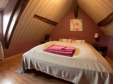 Domaine du Martinaa - gite La Petite Longere - Valerie Roelens - Saint Martin de la Lieue (chambre 2 personnes)