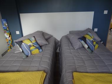 Domaine des Monts Flambards Chez Patricia Roselier Gite à Saint-Martin-de-la-Lieue 2 lits simples