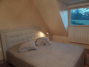 Domaine des Monts Flambards Chez Patricia Roselier Gite à Saint-Martin-de-la-Lieue Chambre