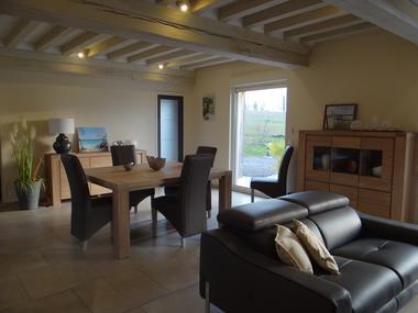Domaine des Monts Flambards Chez Patricia Roselier Gite à Saint-Martin-de-la-Lieue Salle