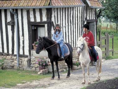 Enfants-à-cheval