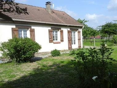 Gite rural à la ferme Barbé Le Mesnil-Simon Maison